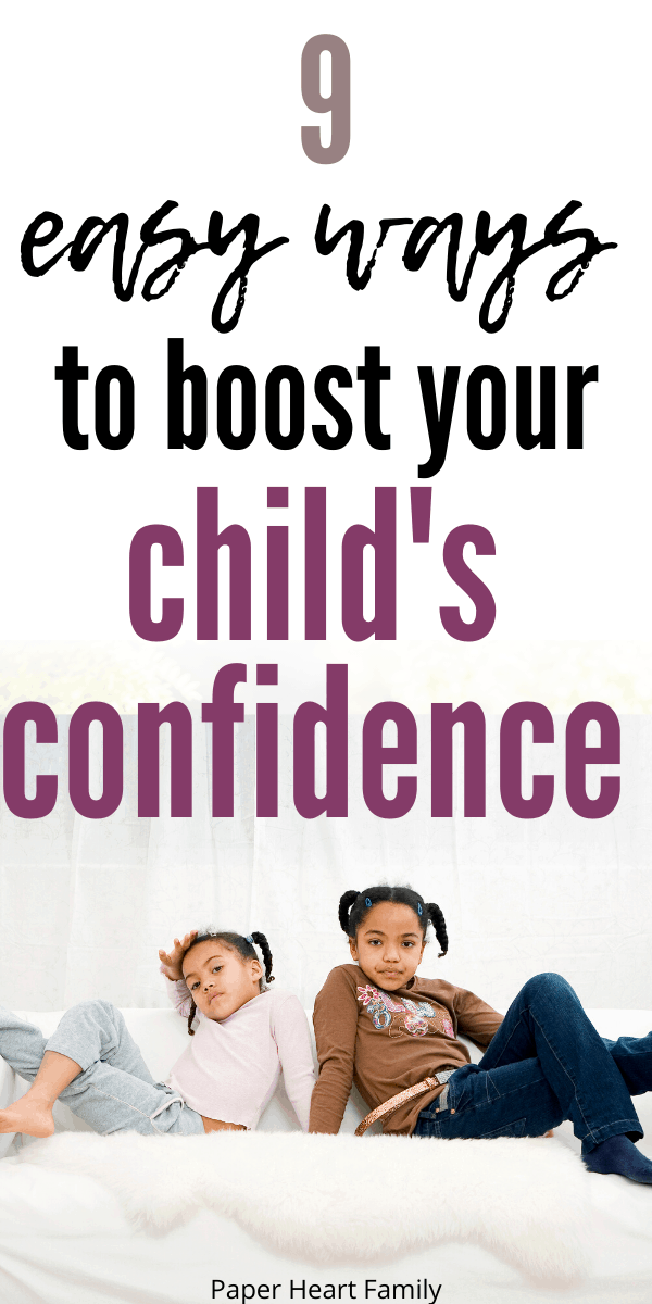 Gentle ways to encourage self confidence in your shy child