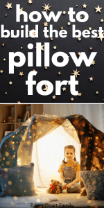 How to make a pillow fort for kids