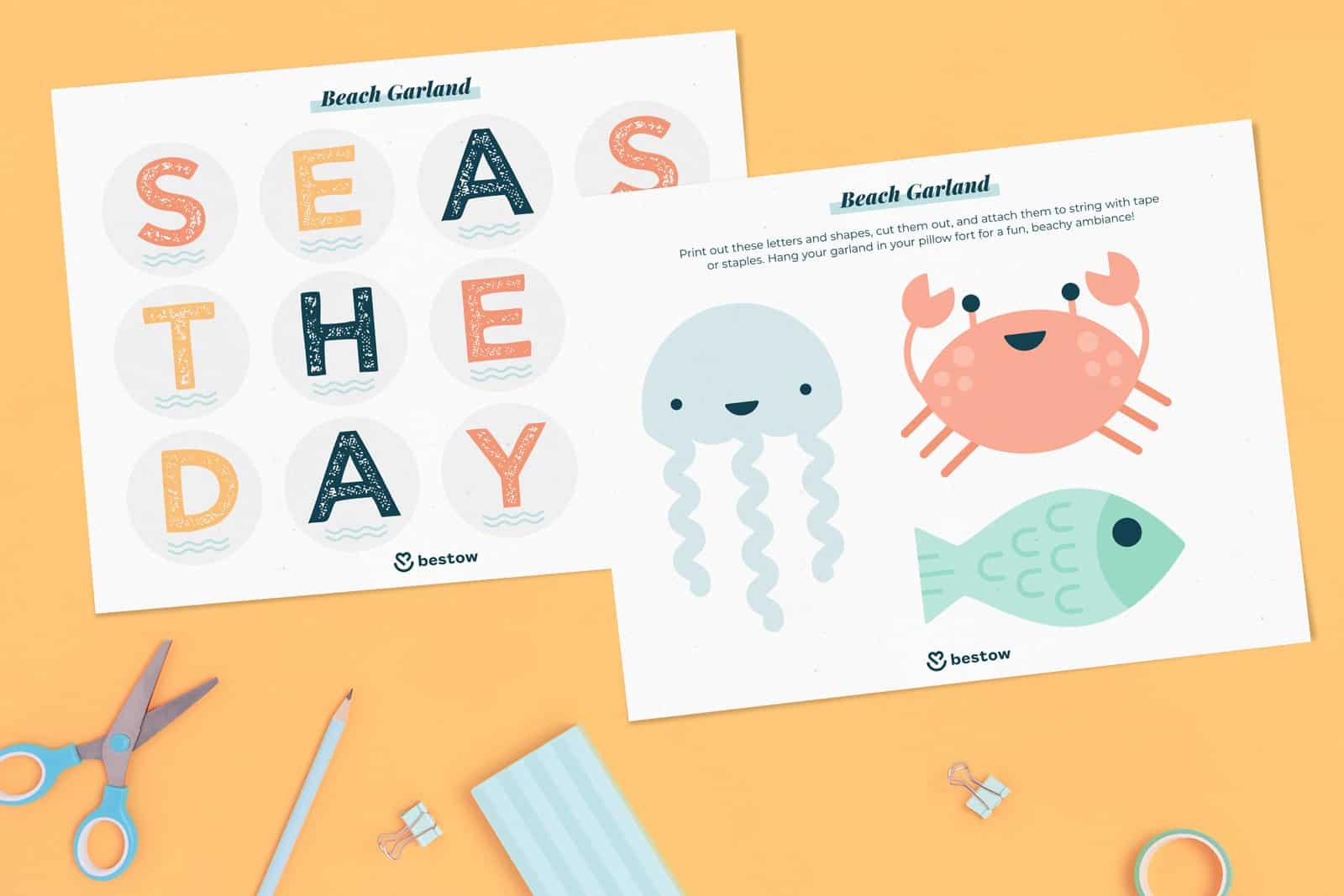 Seas the day printable